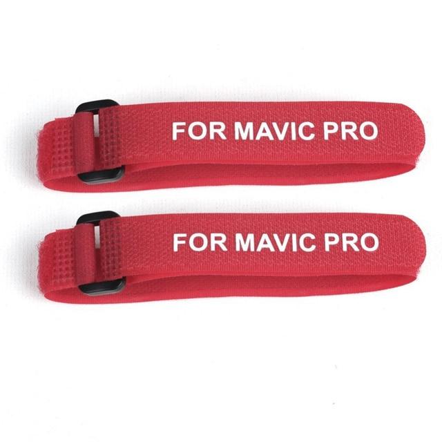 F20382/83 2pcs Stabilizer Enfoldment Fixing Strap Motor / Propellers Clip Belt Holder Transports Protection for DJI MAVIC PRO