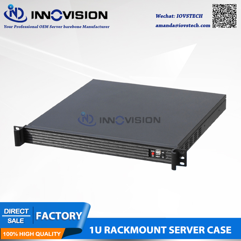 Elegant Compact 1U server case RC1420L 1u computer case 1U rack - Industrial Computers and Accessories - Photo 2