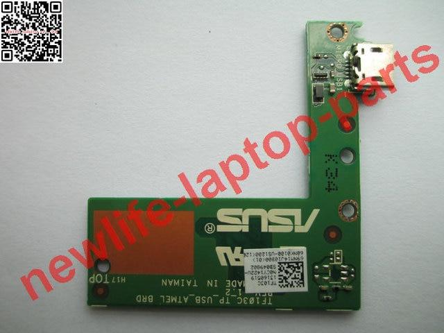 Do laptop original PLACA do carregador USB BRD TF103C_TP_USB_ATMEL TF103C bom teste frete grátis
