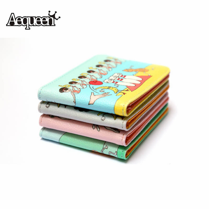 AEQUEEN Woman Funny Character Card Holder Women Cute Business Card ...