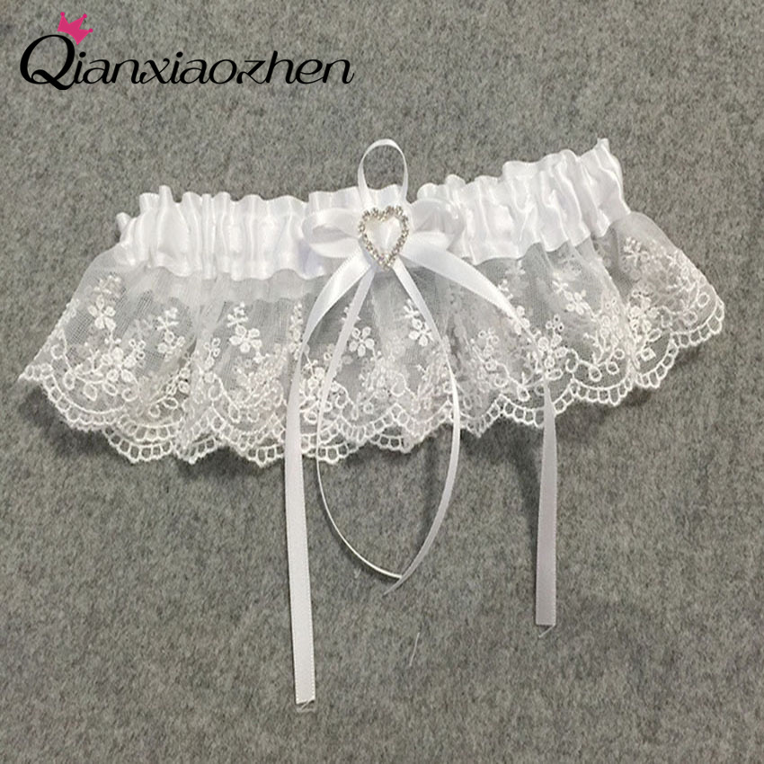 Wedding Leg Garter: Aliexpress.com : Buy Qianxiaozhen Flower Lace Leg Wedding