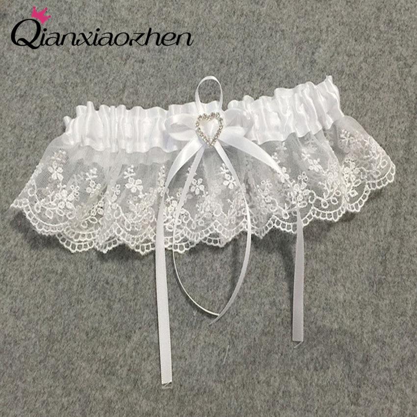 Diy Wedding Garter: Aliexpress.com : Buy Qianxiaozhen Flower Lace Leg Wedding