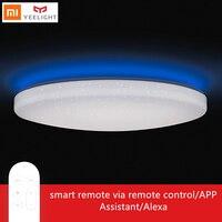 Yeelight светодиодный свет лампы гостиная потолок jiaoyue 650 Смарт Wi Fi пульт дистанционного Управление номер с помощник Alexa xiaomi mijia APP