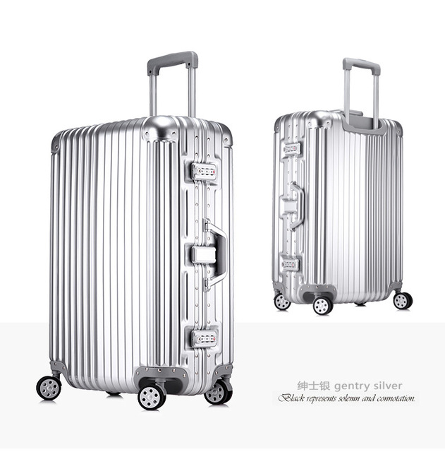 New 20 24 26 29''Large Capacity Travel Suitcases, Men Business Travelling Luggage, Women Waterproof Spinner Trolley Suitcase