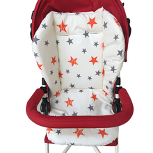 Baby Accessories Pentagram Baby Stroller Seat Soft Cushion Animal Bebe Carriages Seat Pad Newest Cotton Stroller Mat Accessories 0 5 year infant playmat kids carpet baby play mat baby stroller cotton cushion seat breathable soft booster seat baby seat pad