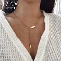 17KM Beer Cup Long Pendant Necklace For Women Wine ...