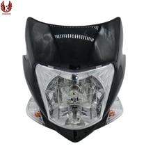 KAMANSI RAIDER J 12V35W общая фара мотоцикла Мотоциклетные аксессуары черный корпус белый лампадшетфлетер налобный фонарь