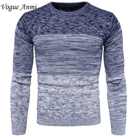 VogueAnmi Spring Mens Pullover Sweaters Simple Style Cotton O Neck Sweater Jumpers Autumn Thin Male Knitwear