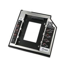 kebidu SATA to SATA 2nd HDD Caddy 9.5mm for 9mm 9.5mm SSD Case Hard Disk Drive Enclosure Bay for Notebook ODD Optibay CD-Rom