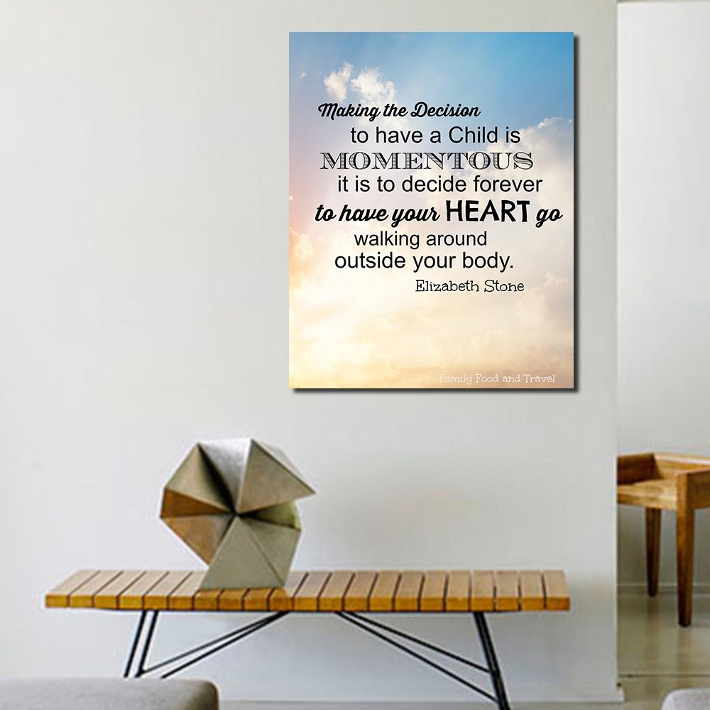 online get cheap motherhood art aliexpress com alibaba group order 1 piece wang art oil painting canvas art home decor motherhood quote wall pictures for living room modern