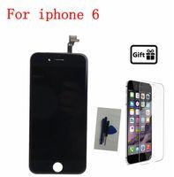 Highbirdfly Dla Iphone 6/6 plus Ekran Wyświetlacz Lcd + Panel Dotykowy Szkło Digitizer wymiana Zespołu 6 plus Pantalla naprawa lcd