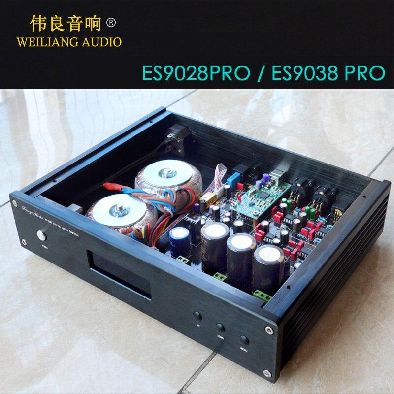Xmos Xu208/amanero Usb Decoder Dac Unterstützung Pcm384k Dsd256 Dop Ideales Geschenk FüR Alle Gelegenheiten Digital-analog-wandler Ausdrucksvoll Dc200 Hifi Es9028pro/es9038pro