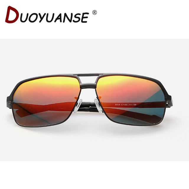 be273e1a2bc2 DUOYUANSE aluminum magnesium polarizing sunglasses high-end men s sun  glasses 8549 driving glasses wholesale and