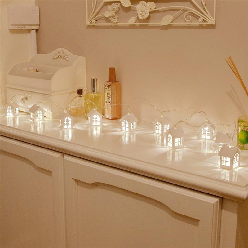 1-2M 10 -20LED String Lights Decorative Fairy Lights for Christmas Party Holiday Event Home Store Decoration
