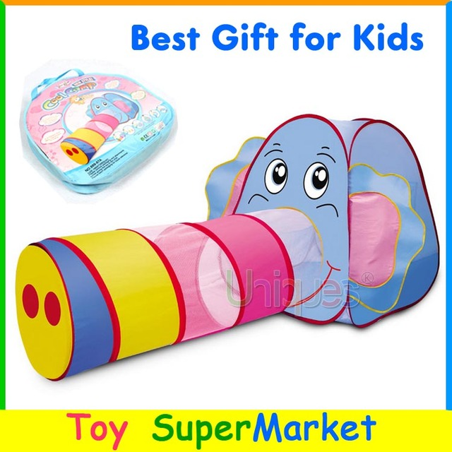Elephant Tent with Tunnel Kids Play Tent Cartoon Beach Lawn Tent Ball Pool Play House Tent  sc 1 st  AliExpress.com & Elephant Tent with Tunnel Kids Play Tent Cartoon Beach Lawn Tent ...