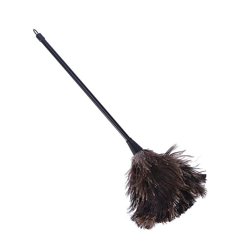 Ostrich Duster Feather Dusters with Long Plastic Handle Cleaning Brush Tool(China)