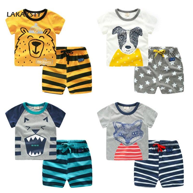 27b8e620711b1 80-130 cm coton enfants garçons pyjamas ensemble dessin animé enfants  Pyjama bébé vêtements de