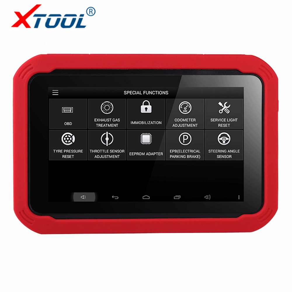 все цены на 100% Original Auto Key Programmer XTOOL X100 PAD Professional Car Diagnostic tool with Special Function Odometer Correction Tool