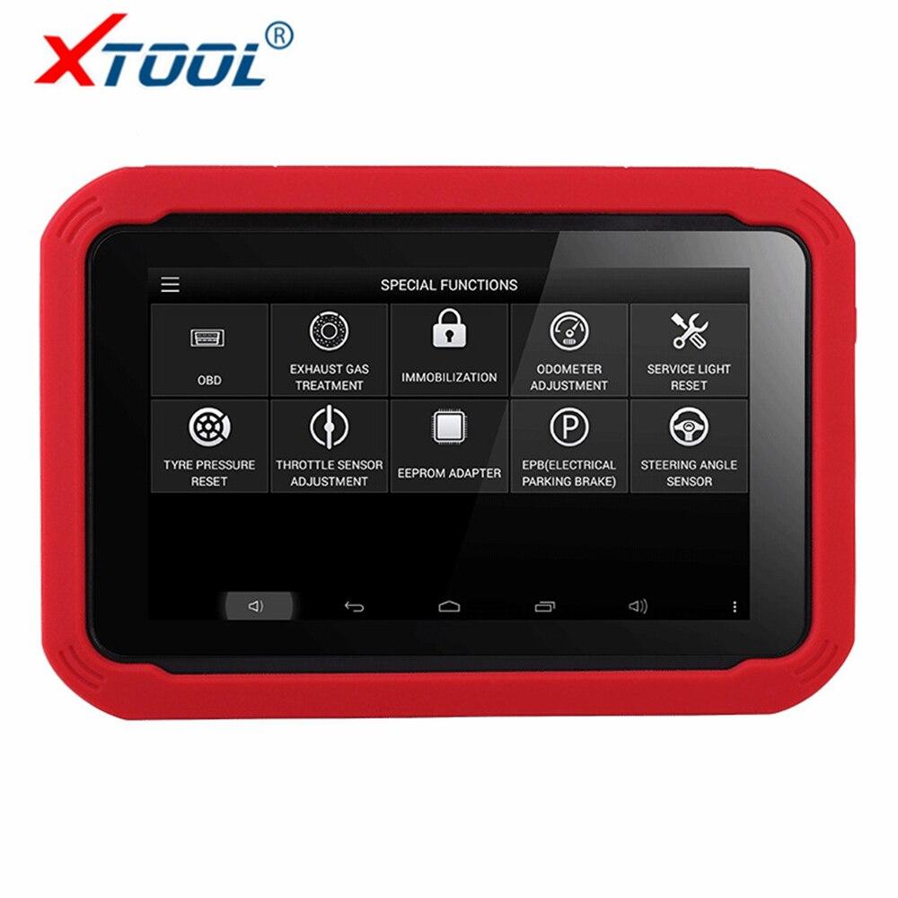 100% Original Auto clave programador XTOOL X100 PAD herramienta de diagnóstico del coche profesional con función especial herramienta de corrección del odómetro