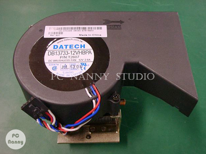 T5098 0T5098 for Dell OPTIPLEX GX280 Cpu Cooling fan Heatsink Assembly Radiator Cooler fully working the new thinkpad laptop radiator cooling fan cpu integration t530 fru 04w6905 cooler radiator heatsink