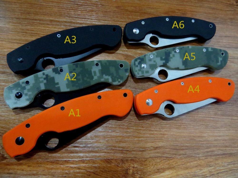 5PCS LOT Hot sale Efeng C36 Spyder Folding font b Knife b font font b Tactical