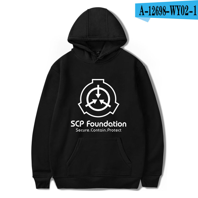 New Hoodies Men Scp Foundation Hoodies Foundation Sweatshirt Mens