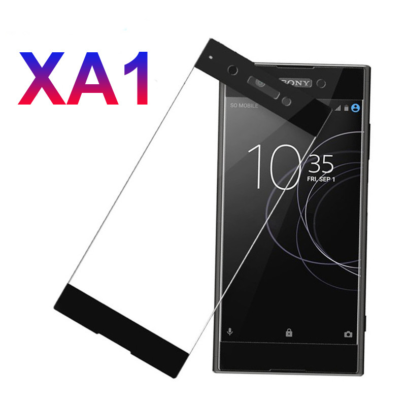 Full Cover Tempered Glass For Sony Xperia XA1 XA Screen Protector Glass For Sony Xperia XA1 Plus Ultra XA Proetective Case Film