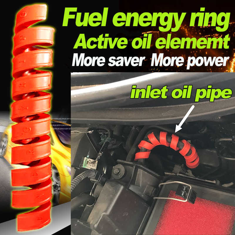 フォルクスワーゲン Vw パサート VW ヌエボ Gol すべてエンジン車の空気エネルギーモジュールエネルギーリング燃料節約炭素車アクセサリー