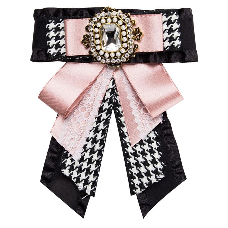 Ahmed 30 стильные роскошные стразы с цветочным принтом, леопардовые броши для галстука бабочки для женщин, модные ювелирные изделия для воротника, Прямая поставка