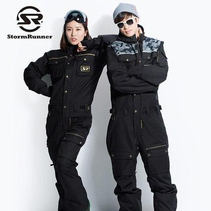 StormRunner di Marca Degli Uomini/Donne Set da Sci Tuta Impermeabile Traspirante Cappotto di Neve Per Tenere In Caldo Outdoor Coppie Vestito di Sci