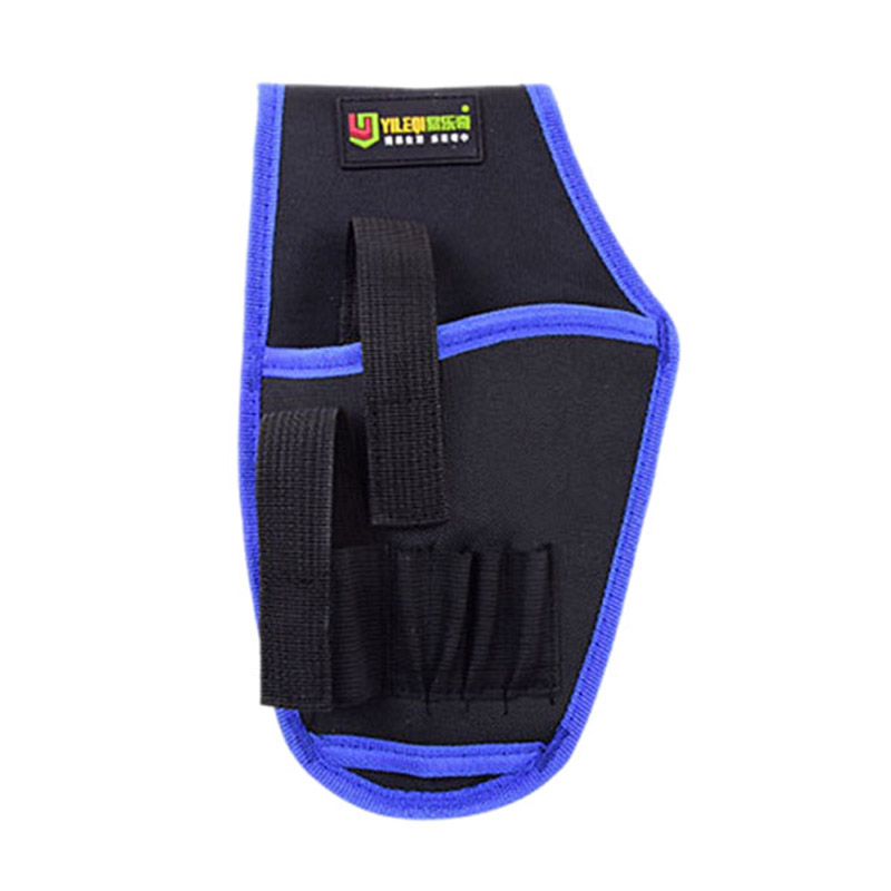 Portable Cordless Drill Holder Drill Cordless Screwdriver Waist Power Tool Bag Drill Waist Tool Belt Bag