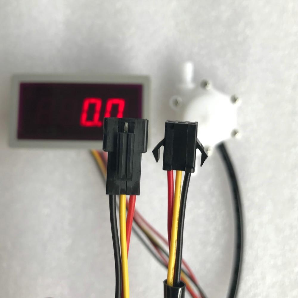 US208MA + USN-HS06PA-1 0.15-1.5L / min sensor de flujo Medidor de - Instrumentos de medición - foto 3