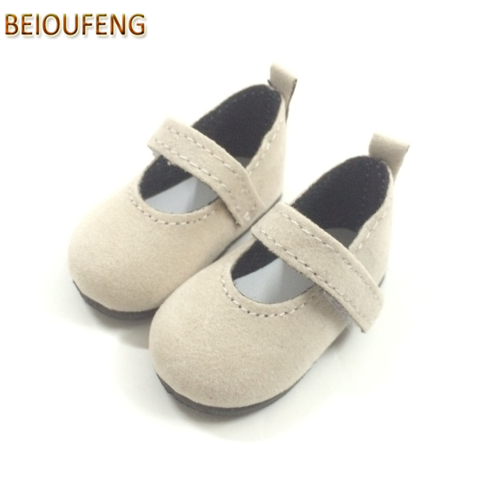 BEIOUFENG 6CM Doll Shoes for Paola Reina Gym Shoes for Minifee 1 4 Doll BJD Footwear