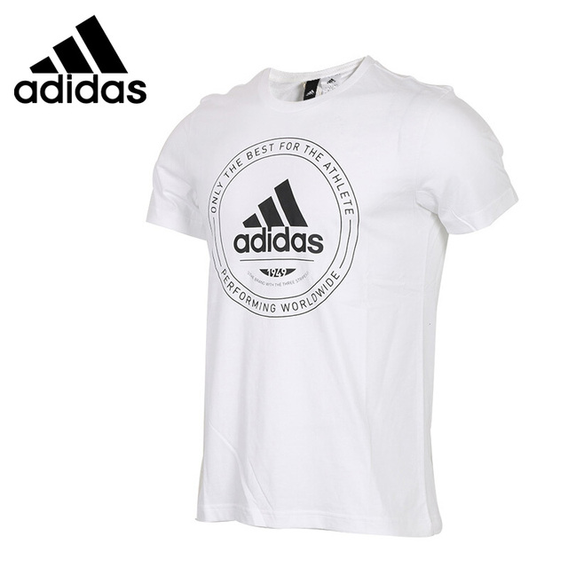 Original New Arrival 2018 Adidas EMBLEM Men s T-shirts short sleeve  Sportswear 31ac37ce20711