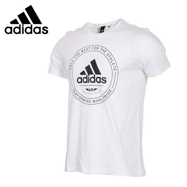 7998e728fb52b Oryginalny nowy nabytek 2018 Adidas godło męskie koszulki z krótkim rękawem  odzież sportowa