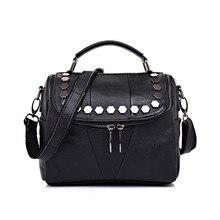 Real Genuine Cowhide Leather Women's Handbag Luxury Designer Female Shoulder Bag First Layer Cowhide Girl's Messenger Bag