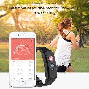 Image 2 - Braccialetto di salute di Misurazione della Pressione Arteriosa Banda Intelligente Inseguitore di Fitness Orologio Digitale per il iphone xiaomi pk fitbits honor fascia 4