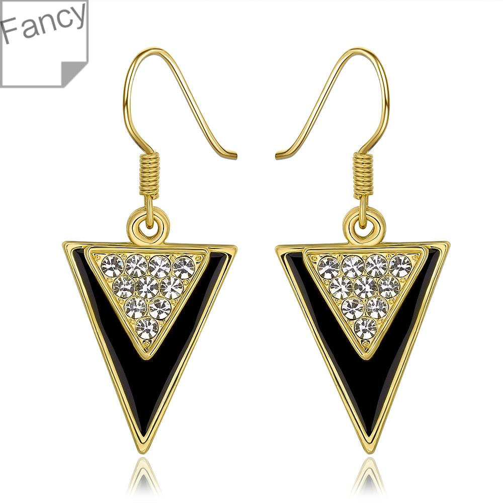 Earrings wedding earrings for women Gold Roasted Black ...