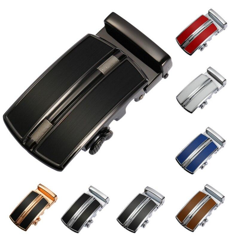 New Hot Selling Automatic Belt Buckling Head Automatic Belt Buckling Zinc Alloy Belt Buckling Men Designer Belts Holographic