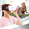 DHL Free Shipping 30 pcs/Lot New VRBOX Upgraded Version Virtual Reality 3D Video Glasses 3D Video Movie Game For Smartphones