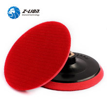 "Z-LION 5"" 2pcs Backing Plate M14 Hook & Loop Polishing Buffing Pad Backer 125mm Backer Pads For Grinder Machine and Polish Pads(China)"