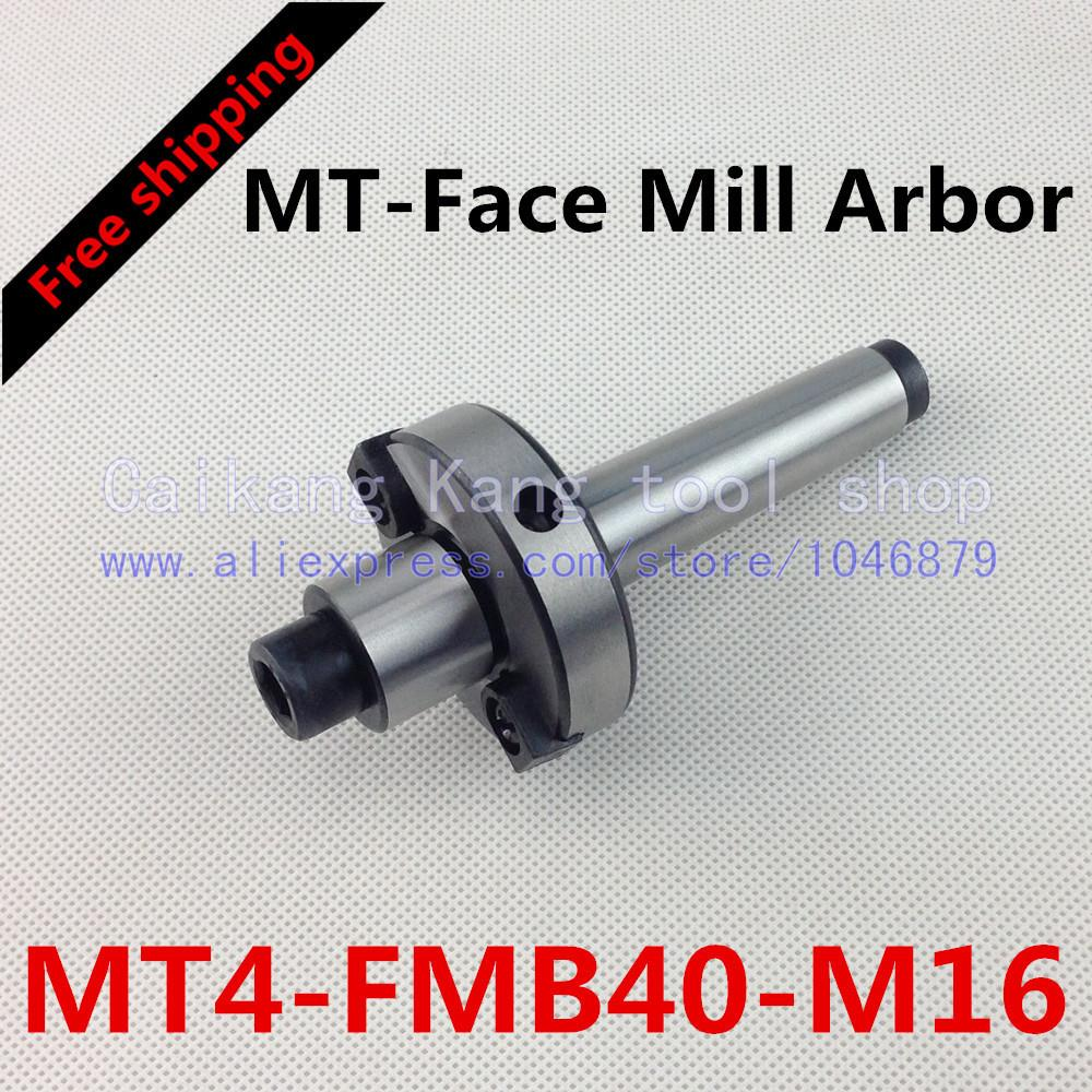 Free shipping New CNC tool holders MT4-FMB40-M16 Morse Face Mill Arbor Shell end mill arbor new face mill arbor cat40 fmb27 60l cnc milling arbor