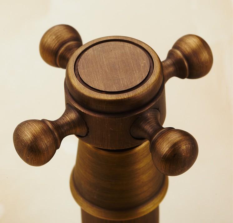3 pçs lote Estilo Europeu Antique Brass