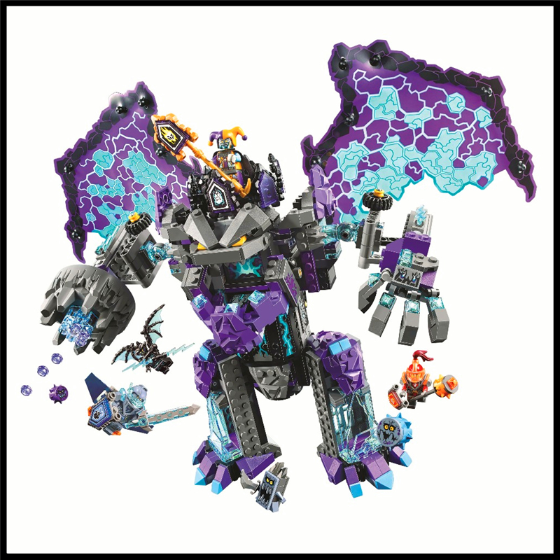 808Pcs Ultimate Destructi Model Building Block Toys BELA 10705 Education Figure Gift For Children Compatible