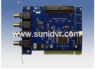 ФОТО High quality  wireless DVR CCTV DVR CARD GV-250 4 CH  CCTV System Security PCI Video Capture