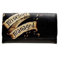 Harry Potter Marauder S Map Mischief Managed Flap Wallet DFT 1861