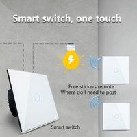 Remote Touch Switch AC 110~240V Wall Light Remote Switch VL-C701R-11 With Mini Remote Controller RT12 Switches