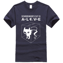 Fashion Men's T-Shirts with Cat Print