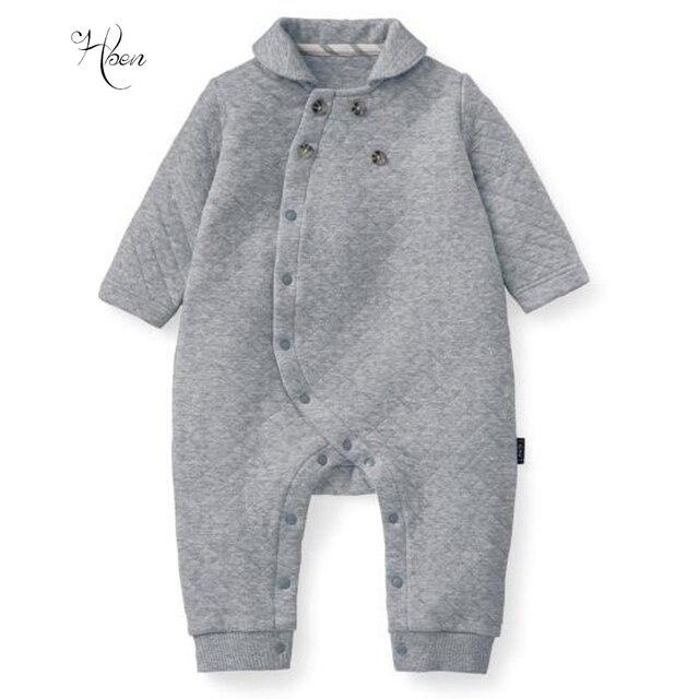 4bd2f49129a71b 2017 Nowa Promocja Wełny Baby Girl Pajacyki Baby Boy Ubrania Zimowe Japan  Style Dziecko Romper Mody