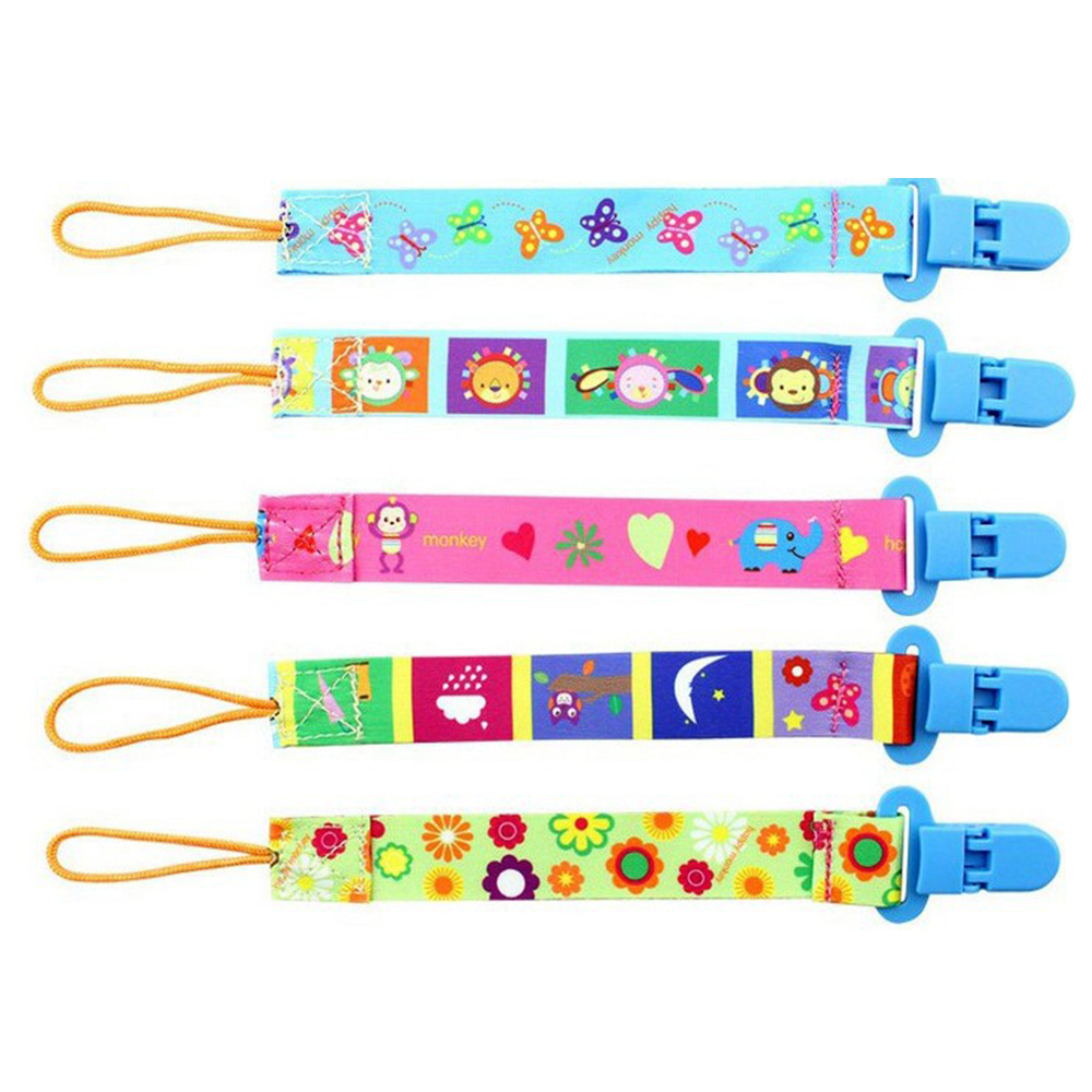New Baby Pacifier Clip Chain Fixed Strap Toy Baby Pacifier Breastfeeding Baby Supplies